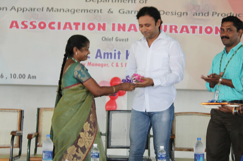 inauguration of fashion apparel management department garment design production department associations - Fashion Production Manager