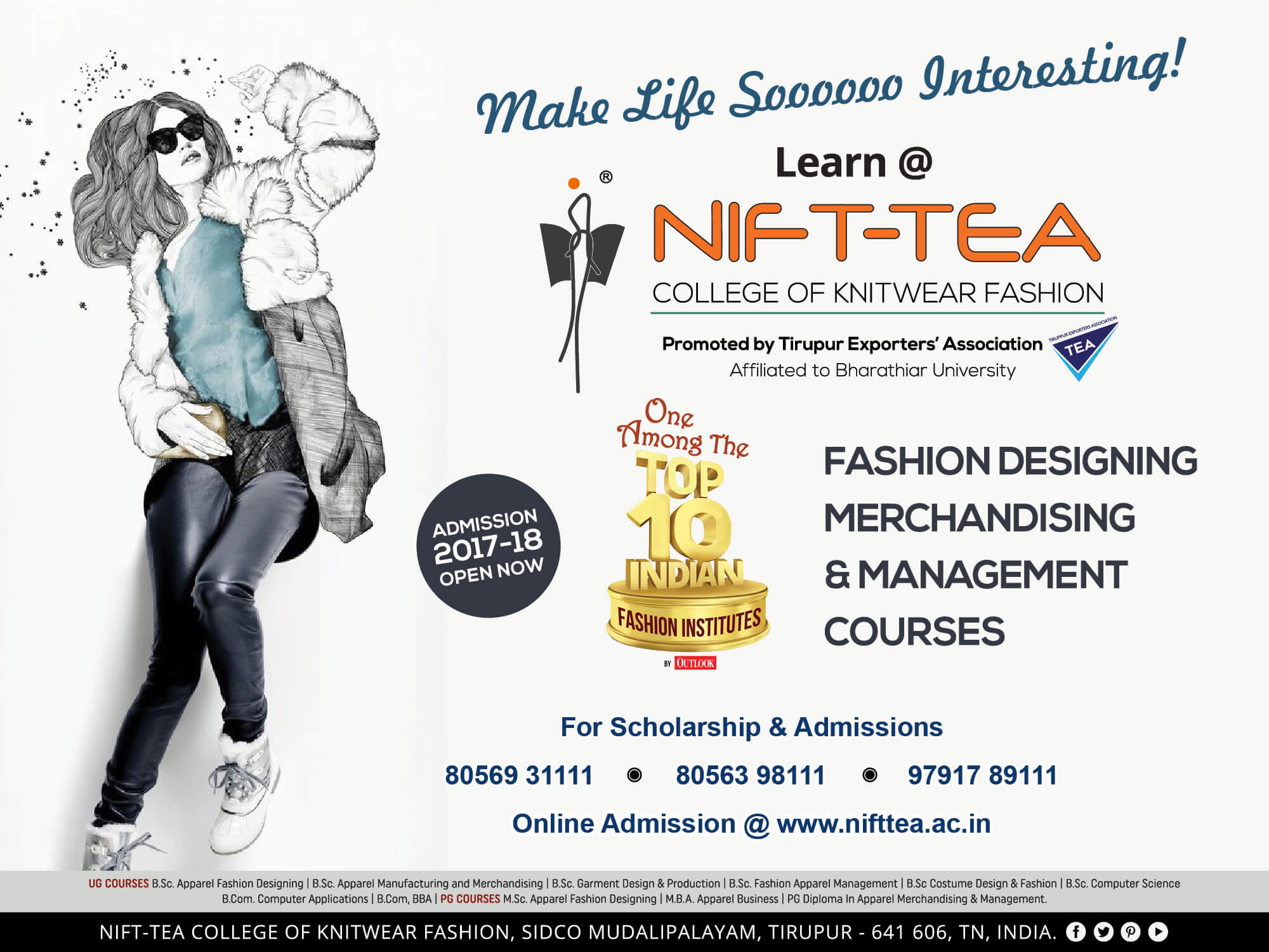 Nift Tea College Of Knitwear Fashion