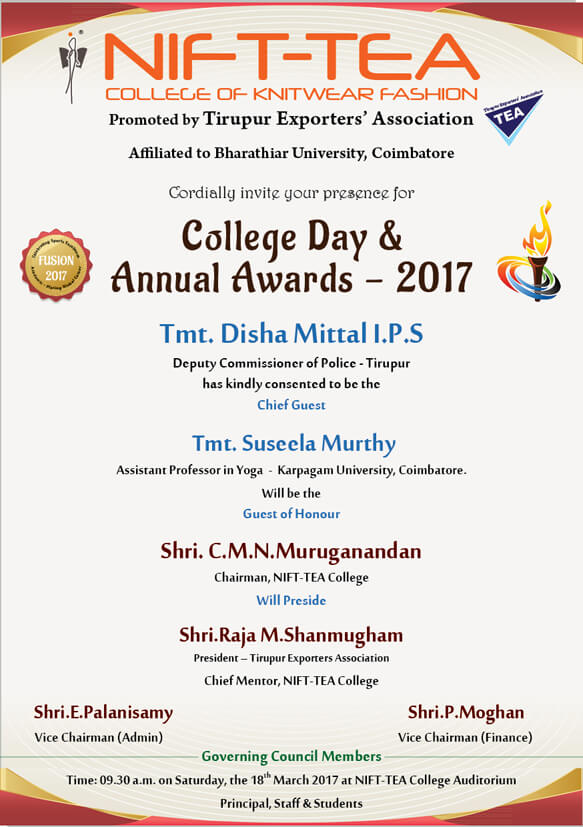 College Day & Annual Awards - 2017