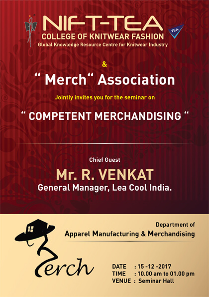 """Competent Merchandising"" – Industry interaction session"