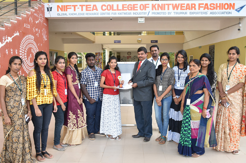 CDF STUDENTS FASHION SHOW IN KSR COLLEGE INTERCOLLEGIATE MEET